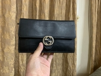 Used Gucci icon wallet on a chain  in Dubai, UAE