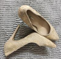 Nose Sequence High Heel Shoes!!