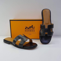 Used Hermes black sandal  in Dubai, UAE