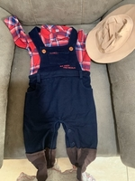 Used Jumpsuit for kids 9-12 months  in Dubai, UAE