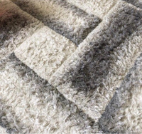 Used Carpet grey and white very good conditio in Dubai, UAE