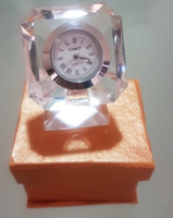 Used Table clock crystal giftable  in Dubai, UAE