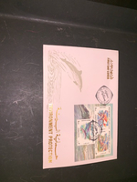 First day covers of stamps
