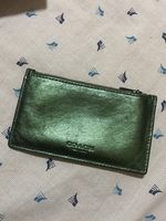 Used Coach Wallet green in Dubai, UAE