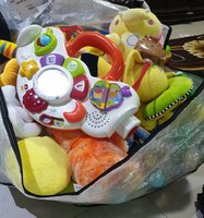 Used Bag with many different toys in Dubai, UAE