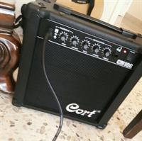 Used Cort Electric Guitar With Amp in Dubai, UAE