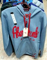 Used Abercrombie and Fitch hoodie jacket in90 in Dubai, UAE