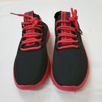 Used Black&Red Sport Shoes 43 in Dubai, UAE