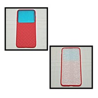 Used IPHONE Grid Tempered Glass Red Colour in Dubai, UAE