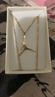 18k necklace gold