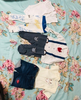 Used New 9 pieces of baby boy clothes  in Dubai, UAE