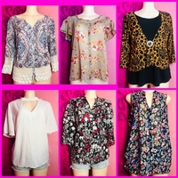 Used 6 PCS BRANDED FASHION BLOUSE in Dubai, UAE
