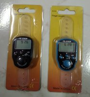 Used 2 Finger counter with time and date 2 pc in Dubai, UAE