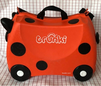 "Used Trunky child suitcase ""Ladybug"" in Dubai, UAE"