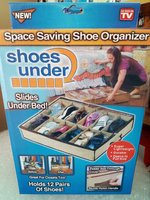 Used Under the bed shoe organizer in Dubai, UAE