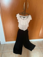 Used Zara, black and white jumpsuit  in Dubai, UAE