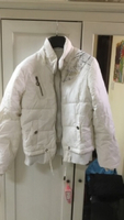 Used Winter Jacket white in Dubai, UAE