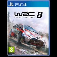 Used WRC8 PS4 new release in Dubai, UAE