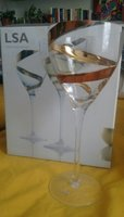 Used LSA handmade, hand painted wine glasses in Dubai, UAE