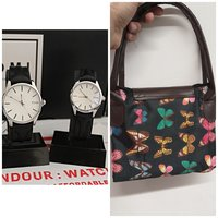 Used Super Offer◇ Tomi Couple Watches + BAG in Dubai, UAE