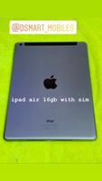 Used ipad air used 16gb with sim in Dubai, UAE