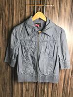 Used Preloved Jacket Size S Color Grey in Dubai, UAE