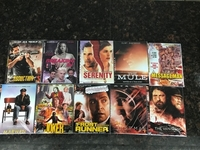 Used 10 CD's movies  in Dubai, UAE