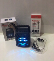 Used Combo Bluetooth speaker and headset new in Dubai, UAE