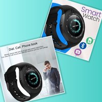Used Brand new gold spark smart watch in Dubai, UAE