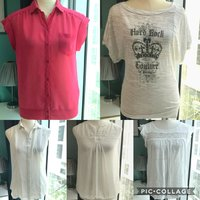 Used Bundle of 5 Branded Tops Small Salsa in Dubai, UAE