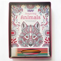 Used Coloring book in metal box in Dubai, UAE