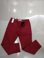 Used RED LACOSTE PANTS NEW AUTHENTIC SIZE 46 in Dubai, UAE