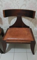 Used Marina Homes Chairs Solid Wood & Leather in Dubai, UAE