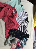 Used 5 dress,2 jackets and headbands for baby in Dubai, UAE