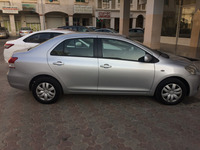Used Toyota yaris ATM 1.3 litre 11/2008 model New 5 tyres battery new. No accident. All seat covers floor plastic coating finish. KM 79500. Very good fuel ecnomy. All regular bahwan service. Mulkiya expired on Nov 18th. Dofar insurance.  Veh full condition. Also you can check the service history of this car. Intrested people call me after 4pm because iam in duty time may be i cant pick my phone or otherwise just message me i will call you back only resonable message. in Dubai, UAE