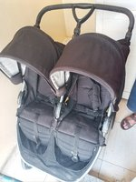 Used Used twins stroller in Dubai, UAE