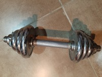 Used Dumbbells Set. Very rarely used in Dubai, UAE