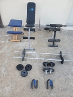 Used Gym benches and weight dumbles  in Dubai, UAE