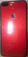 Used iphone 7plus( red edition ) 128gb ccoat in Dubai, UAE