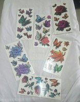 Used 3D tattoo sticker 10pieces 1set in Dubai, UAE