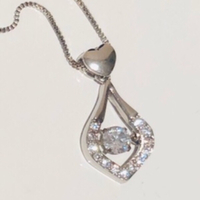 Used Trickling heart necklace  in Dubai, UAE