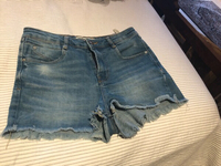 Used Jeans shorts form Zara. Size 26 in Dubai, UAE