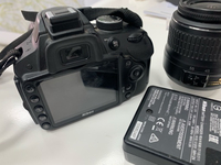 Used Nikon DSLR Camera D3200 with 2 lens in Dubai, UAE