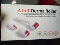 Used NEW 4in 1 DERMAROLLER SET (Face body eye in Dubai, UAE
