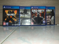 Used 4 Call of Duty games for PS4 in Dubai, UAE