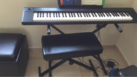 Used Piano ,stand and stool in Dubai, UAE