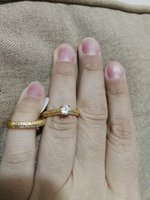 Used 2 pcs wedding rings for him and her in Dubai, UAE