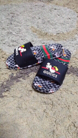 Used Gucci Mickey slippers size 38,new in Dubai, UAE