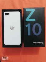Used Blackberry Z10. 16GB WAITE WITH BIX  in Dubai, UAE