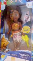 "Used 14"" Moana Singing Doll in Dubai, UAE"